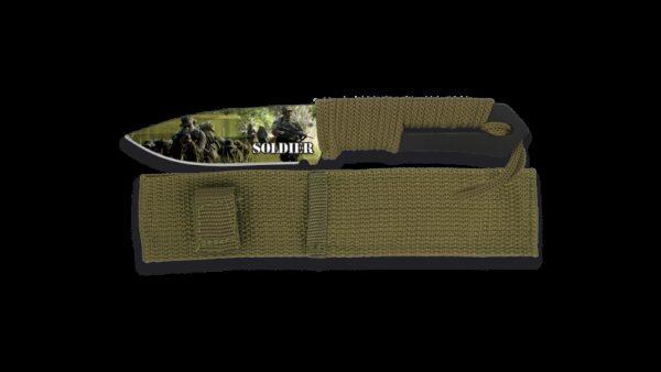 Cuchillo Albainox 3D Soldier 32289
