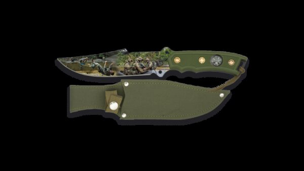 Cuchillo Albainox 3D Militar 32290