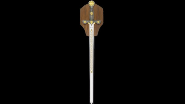 TOLE 10 Espada Templaria Plateada 32111