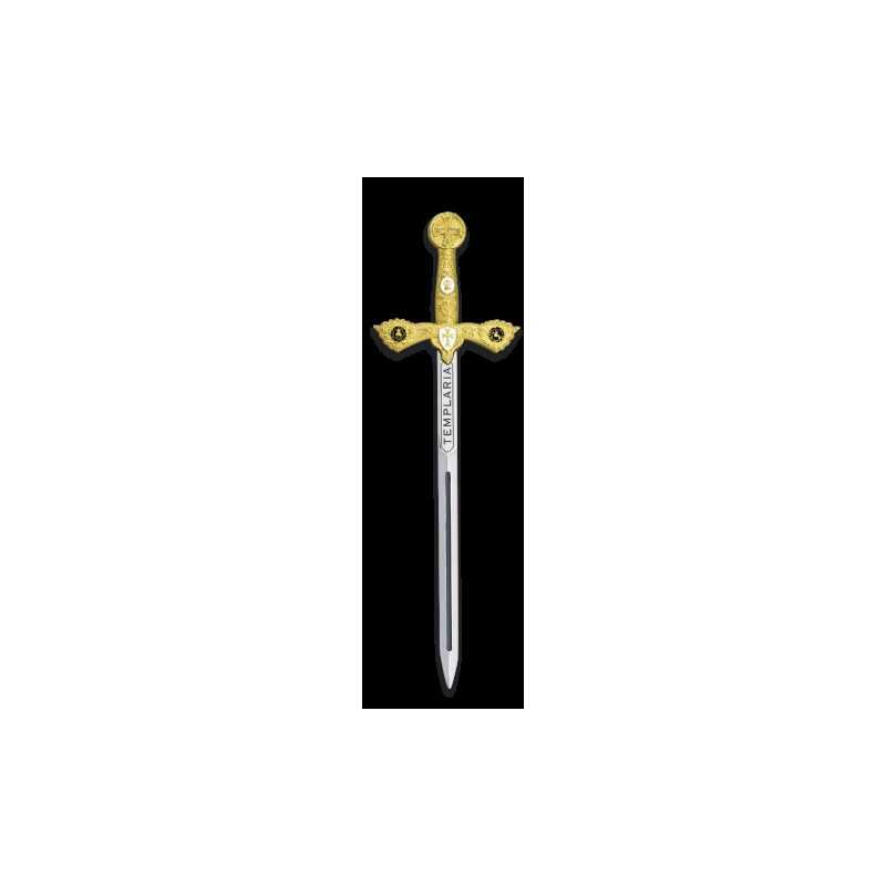 "TOLE 10 Espada ""Mini"" Templaria Dorada 09352"