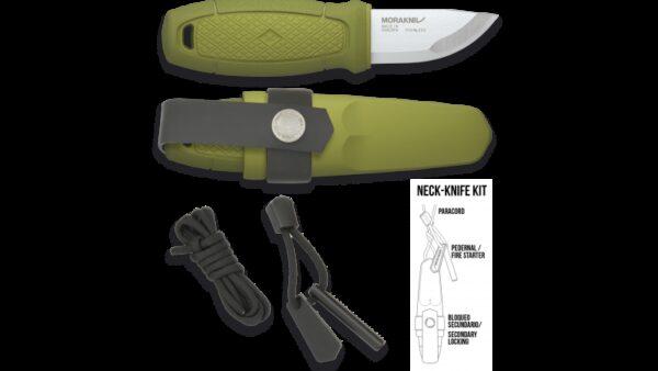 Cuchillo Morakniv ELDRIS Verde + KIT 17430-VE