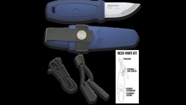 Cuchillo Morakniv ELDRIS Azul + KIT 17430