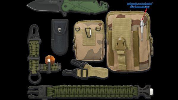 Albainox 33936 Set Supervivencia 5 piezas,