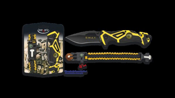 Albainox 33980 Set Supervivencia 2 piezas,