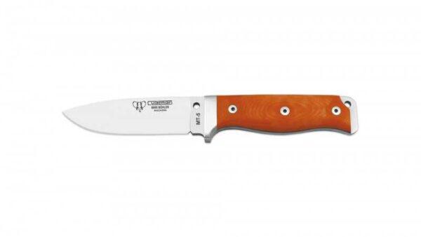Cuchillo Supervivencia Cudeman MT5 120j G10 Naranja