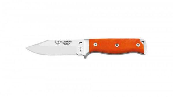 Cuchillo Supervivencia Cudeman MT1 295jC G10 Naranja