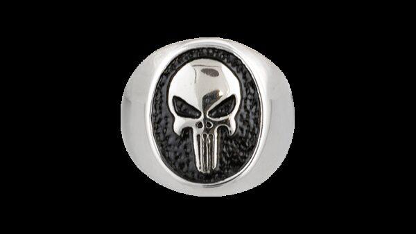 Anillo De Acero Calavera-Steel Rings