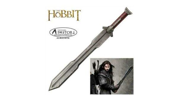 El Hobbit réplica oficial espada del guerrero enano Kili