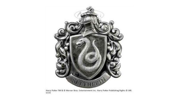 Escudo Slytherin casa del colegio Hogwarts de la película Harry Potter