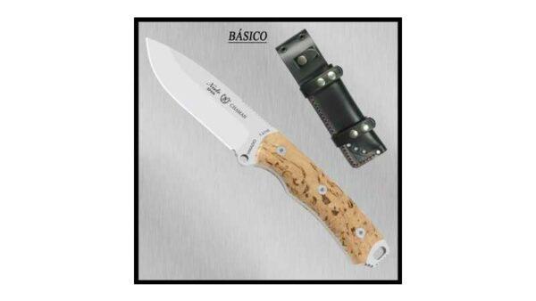 Cuchillo Nieto Chaman 140A Abedul