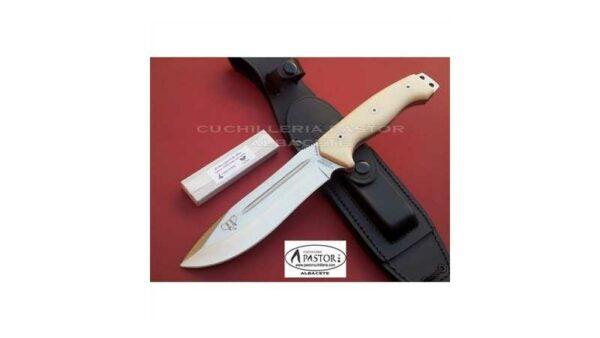 Cuchillo Cudeman Spartan 126B Micarta Blanca