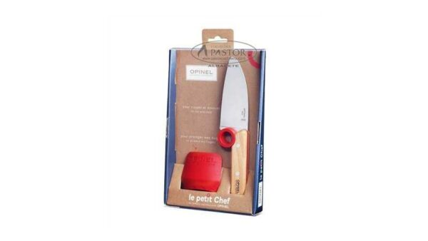 Cuchillo Opinel Le Petit Chef + Protector de Dedos