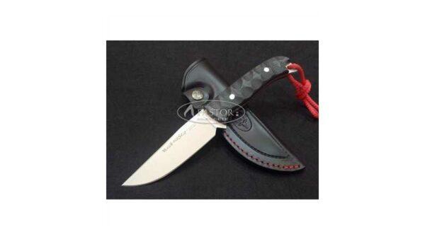 Cuchillo Caza Husky 10M Micarta Negra