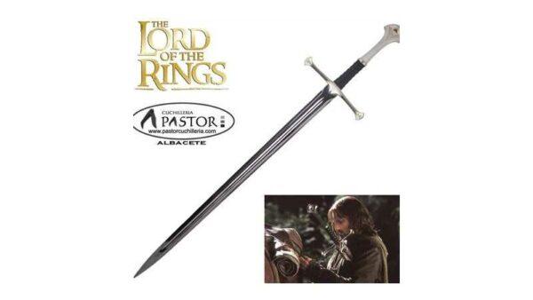 """Espada Narsil - Espada Aragorn """"El Señor de los Anillos"""""""