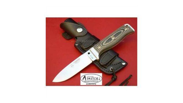 Cuchillo Cudeman MT5 Micarta Negra 120M