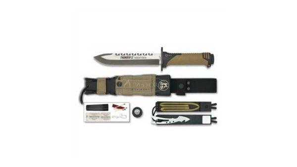 Cuchillo Supervivencia Rui / K25 Thunder II Desert 32133