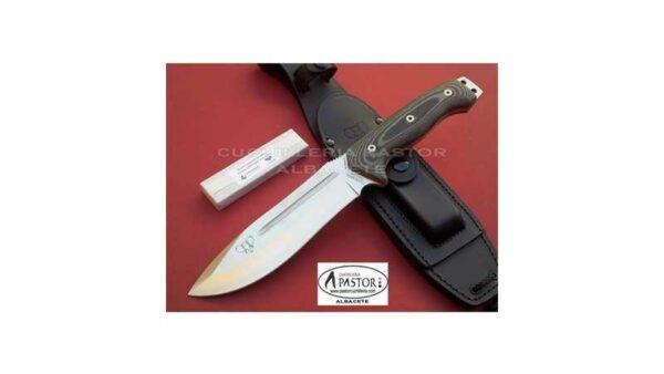Cuchillo Cudeman Spartan 126M Micarta Negra
