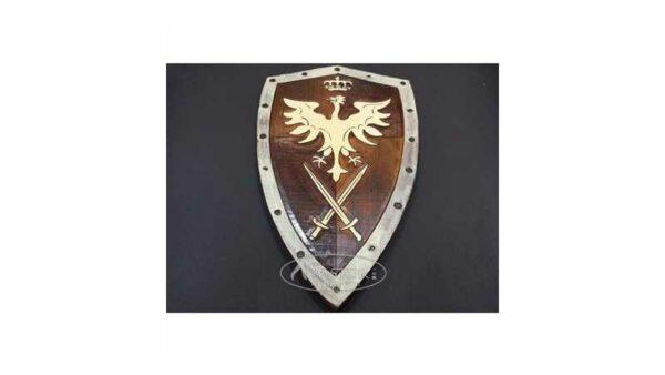 Escudo Medieval Madera 40 cm x 23,5 cm