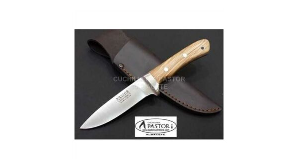 Cuchillo Caza Forjado Olivo Hoja de 10,5 cm