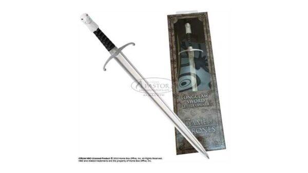 Abrecartas Espada Garra LongClaw Jon Nieve Juego de Tronos NOB0044