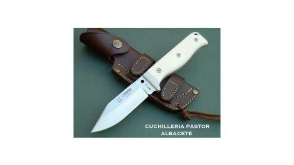 Cuchillo Cudeman MT-1 Micarta Blanca 295B