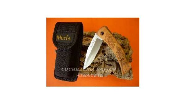 Navaja Muela caza/monte madera de olivo BT-9.OL