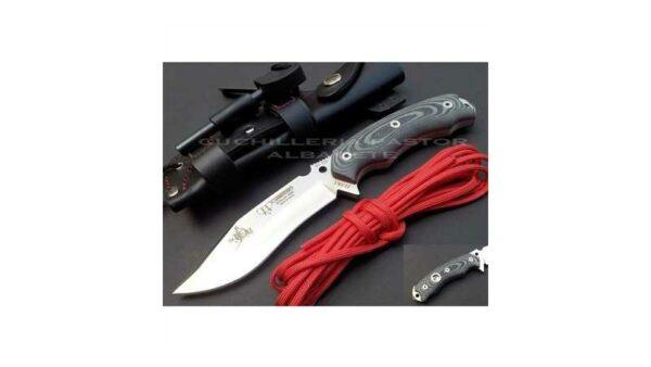 Cuchillo Cudeman JJ SK1 Micarta Negra 124-M