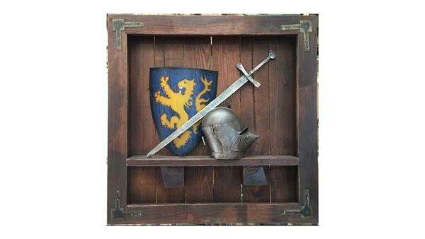 Cuadro Medieval 3 piezas