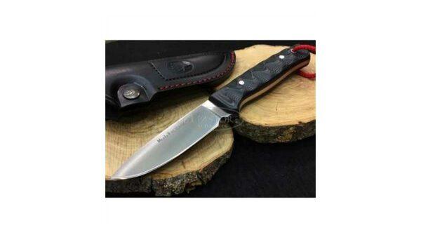 Cuchillo Muela KODIAK 10SVM Micarta Negra