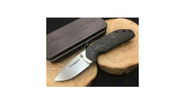 Navaja Magnum Smoother 01LG437 Fibra de carbono