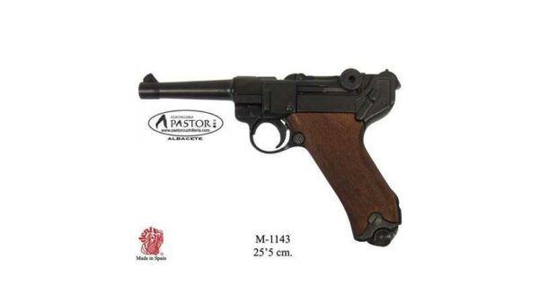 DENIX M-1143 PISTOLA PARABELLUM LUGER P08