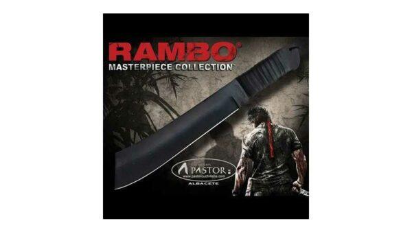 Cuchillo Rambo de la película