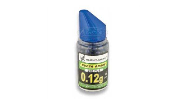 Bote de bolas de pintura azul para airsoft 0,12g Cal. 6mm 35082