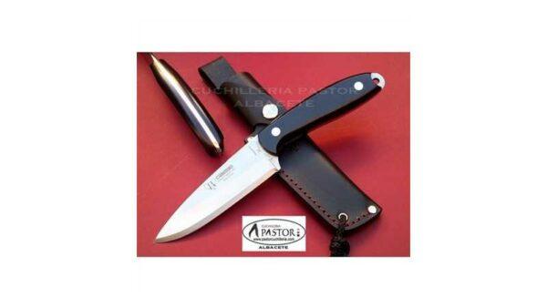 Cuchillo Cudeman Cesar Bozal 123M Micarta Negra