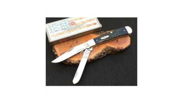 Navaja Case CA18221 Trapper Rough Black Series