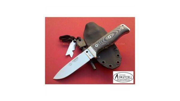 Cuchillo Cudeman MT5 Micarta Negra 120MK KYDEX