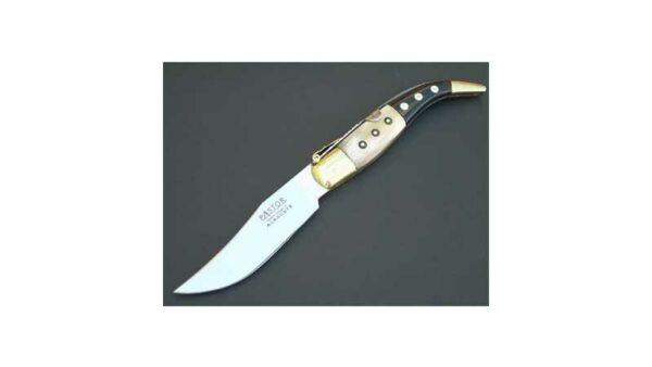Navaja clásica Albaceteña tipo Sancho punta combinada hoja de 10,5 cm