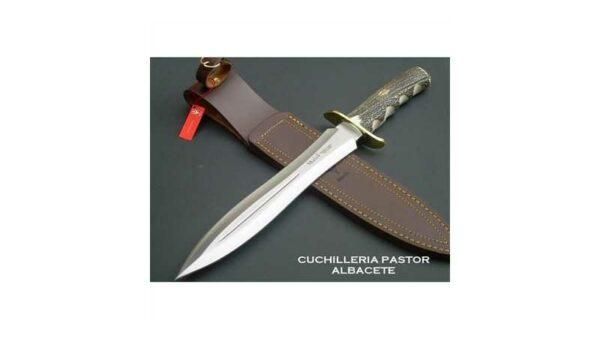 Cuchillo De Caza Muela BW24A Asta De Ciervo