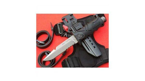 Cuchillo Submarinismo Fox Ocean Master Titanio FX-OCM01-CP
