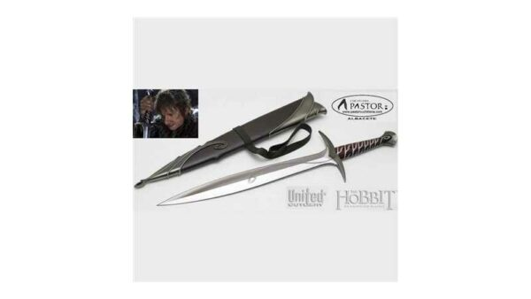 El Hobbit réplica oficial espada Sting Bilbo