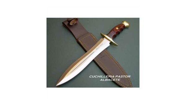 Cuchillo doble filo Muela BW-24