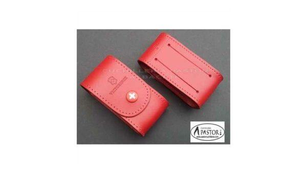 Victorinox 40521.1 Funda Cuero Roja
