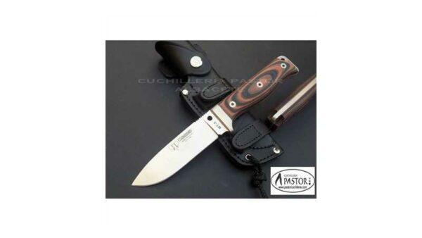 Cuchillo Cudeman MT5 Micarta Bicolor Naranja-Negro 120W