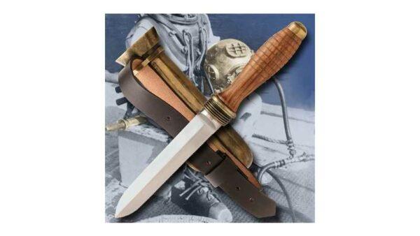 Cuchillo Buzo 2ª Guerra Mundial Windlass 420004