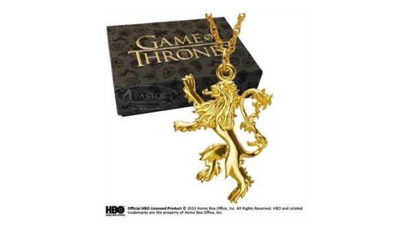 Juego de Tronos Colgante emblema de la casa Lannister