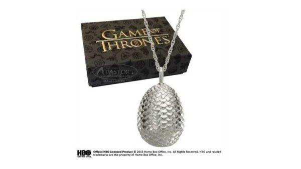 Juego de Tronos Colgante huevo de Dragón