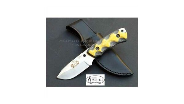Cuchillo J&V CDA Nano micarta bicolor