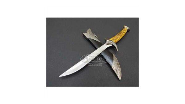 Mini Daga Orcrist de Thorin Escudo de Roble