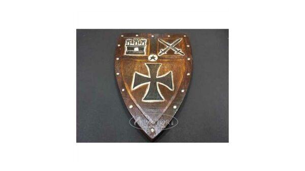 Escudo Medieval Madera 36,5 cm x 23,5 cm