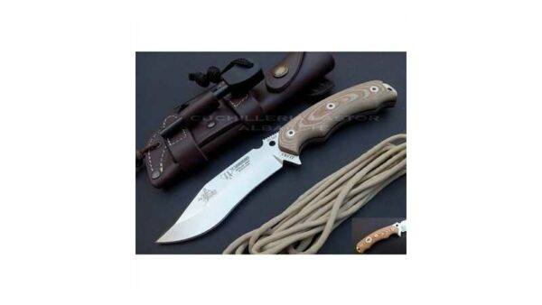 Cuchillo Cudeman JJ SK1 Micarta Marrón 124X